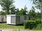 Terschelling - Camping Vis - Mobiele bungalow Stern